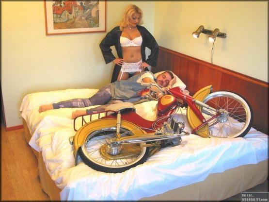 l amour de la moto